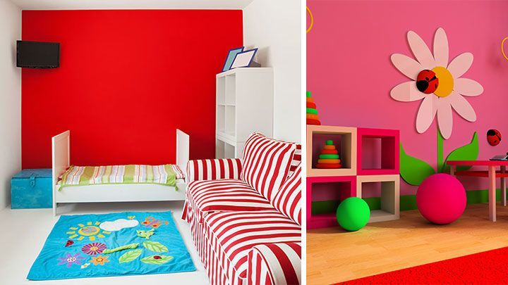 kinderzimmer farbgestaltung. Black Bedroom Furniture Sets. Home Design Ideas