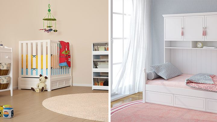kinderzimmer wandfarbe. Black Bedroom Furniture Sets. Home Design Ideas