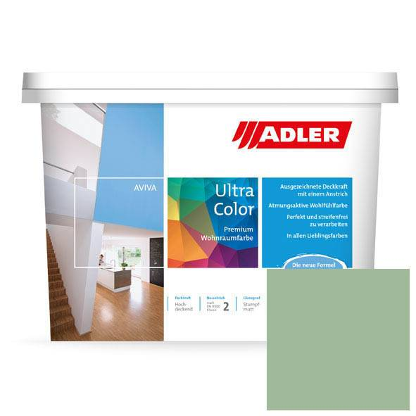 Premium Wandfarbe Perleidechse Aviva Ultra-Color AS 19/3