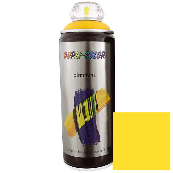 Platinum Spraylack RAL 1023 Traffic Yellow 400ml